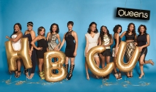 84th Miss UAPB and alumna Alexis Cole (fifth from the right) is shown with nine other campus queens of Ebony Magazine as part of their HBCU Campus Queens feature. Photo by Kristyna Archer and provided courtesy of EBONY Magazine/Johnson Publishing Company.