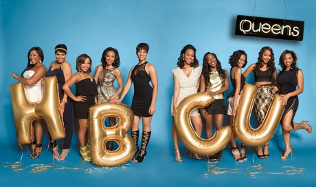 84th Miss UAPB and alumna Alexis Cole (fifth from the right) is shown with nine other campus queens of Ebony Magazine as part of their HBCU Campus Queens feature. Photo byKristyna Archer and provided courtesy of EBONY Magazine/Johnson Publishing Company.