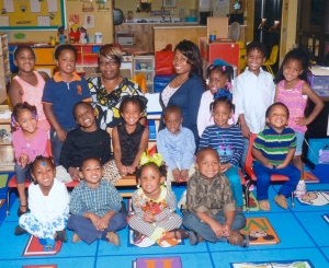 Pictured is a preschool class at the UAPB Child Development Center.