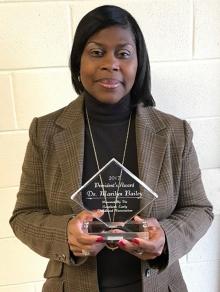 WPDr. Marilyn Bailey with Award Photo 2017