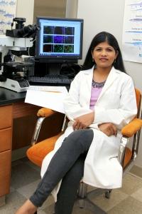 Dr. Grace Ramena in Lab 2017
