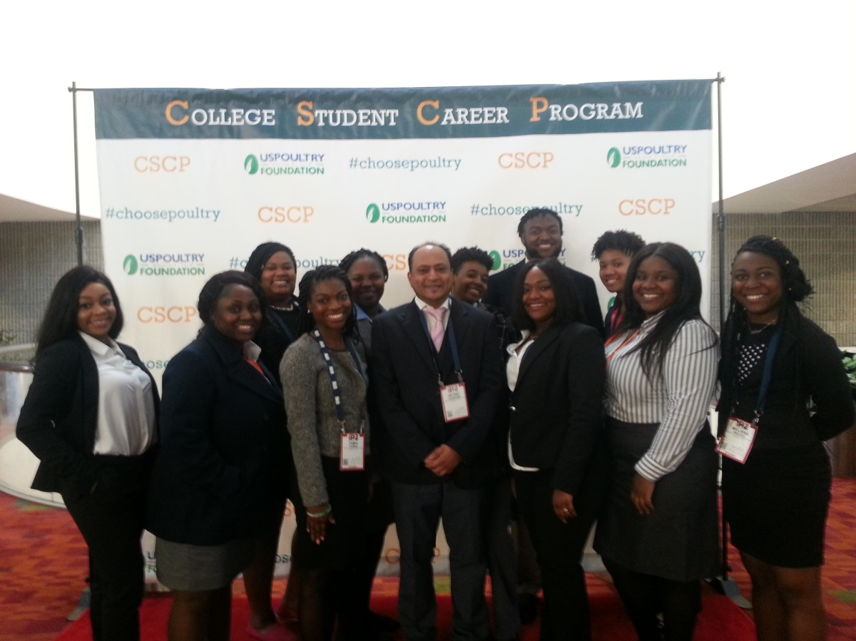 Uapb Students Network Find Job Opportunities At International